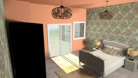 beachfront masterbedroom - Rustic - Bedroom  - by tillsa98