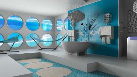 hudge bath - Eclectic - Bathroom  - by calu13