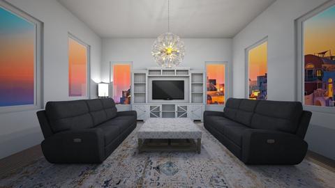 MODERN LIVING - Living room  - by Skwood