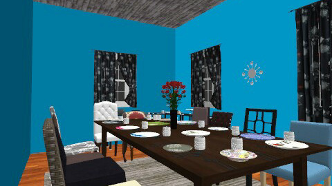 Mix and Match - Dining room - by ndfinney