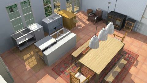kitchenver5 - Retro - Kitchen  - by grownup1