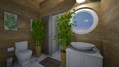 Island Vibes - Bathroom  - by Hersheys