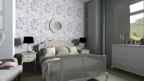 Granny bedr - Classic - Bedroom  - by Tuija