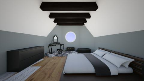 Attic Room - Modern - Bedroom - by beautifulife