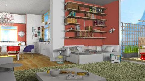 LR_14 - Classic - Living room  - by lilica