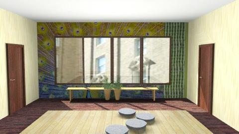 Zen room - Vintage - Bedroom  - by angelicucu