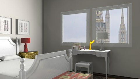 Bege & Branco - Eclectic - Bedroom  - by PFrate