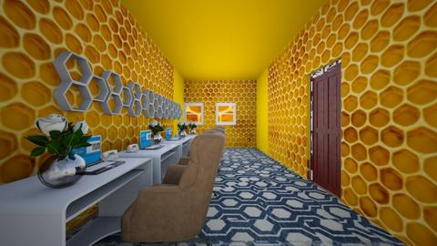 beehouse inspired office - Office  - by prit1112