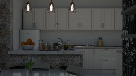 Casa dos meus pais - Modern - Kitchen  - by Ja Willar