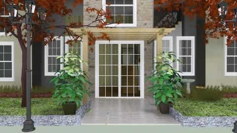 Exterior - Modern - Garden  - by PomBom