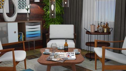 Three of Spades 2 - Rustic - Living room  - by Claudia Correia