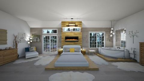 Scandinavian Simplicity - Modern - Bedroom  - by  krc60