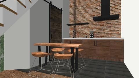 industrial space_sotto - Modern - by ClorofillaHomeStager