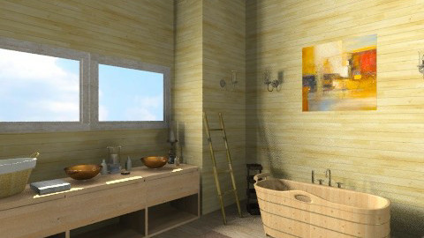 B10 - Vintage - Bathroom - by vanette