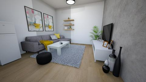 1122 - Modern - Living room  - by loryen