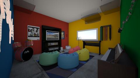 gaming and music room - Minimal - by jade1111