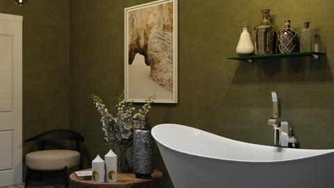 moss - Vintage - Bathroom  - by Ripley86