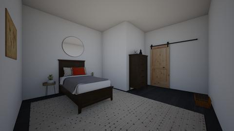 bedroom - Modern - Bedroom - by kaleighsksk