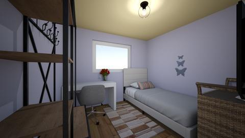 Cuarto real - Vintage - Bedroom  - by Ariadna Kuru