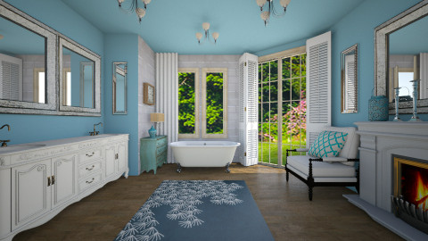Blue House_Bathroom - Classic - Bathroom - by Laurika
