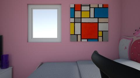 kamar tidur firda 1 minim - Bedroom  - by firdaus123