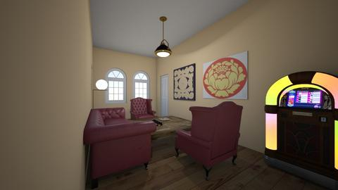Parlor - Rustic - Living room  - by kittytarg