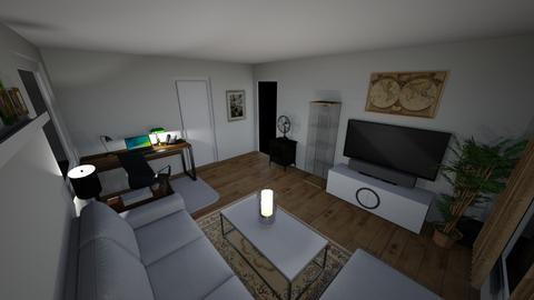 Stua - Living room  - by Barrelson