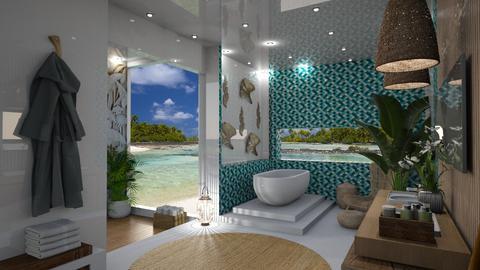 Coral Island Bathroom 1 - by Fofinha