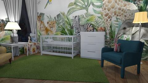 Jungle kids room - Kids room  - by ChanceHome