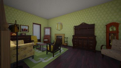 1930s living room - Vintage - Living room  - by PeculiarLeah