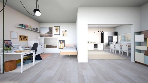 SmArtiE - Modern - Bedroom  - by Mesimumm