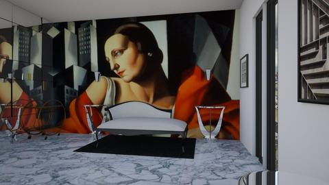 Art deco living - Retro - Living room  - by CaterinaBoccato