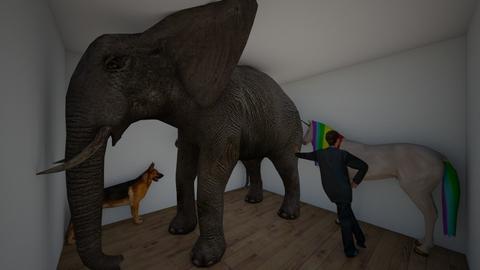 animal house - Kids room  - by brunos1