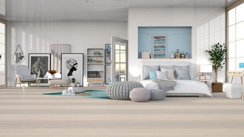spring_contest_bedroom - Bedroom  - by ChichiAsr
