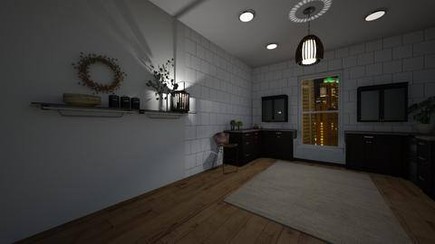 Apartment Kitchen - Kitchen  - by Lexidesign