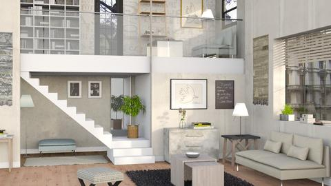 Levels - Living room  - by Sally Simpson