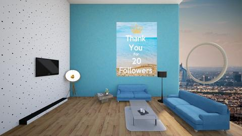 thank you - Modern - Living room  - by lemon boi