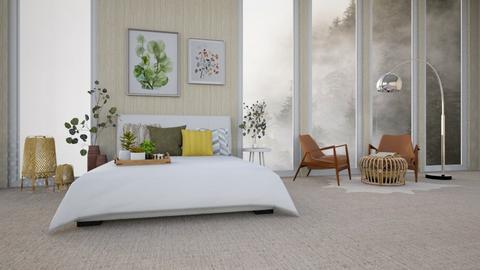 big windows - Bedroom  - by Wensday