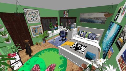 Mayasroom - Bedroom  - by mayaattempt