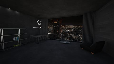 Dark - Living room  - by sfurkan