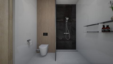 baie moderna 2 - Bathroom  - by Anabuzea11