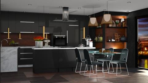 negra - Modern - Kitchen  - by soralobo