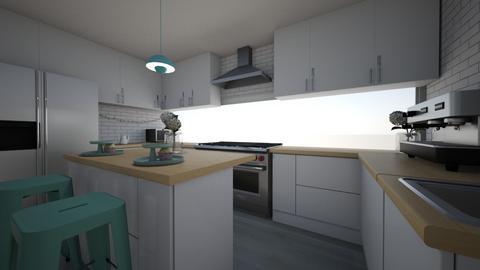 Mint Kitchen - Kitchen  - by ellephante11