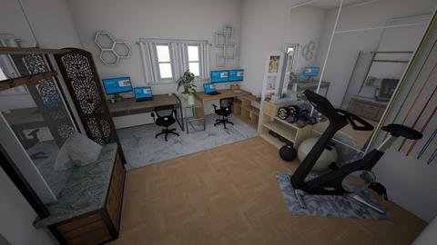 Corbett OfficeGym - Office - by stefong