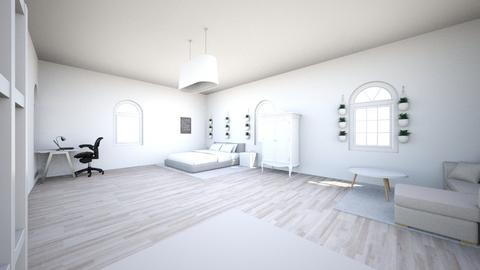 Small teen room - Modern - Bedroom  - by CuteCatCandy130710