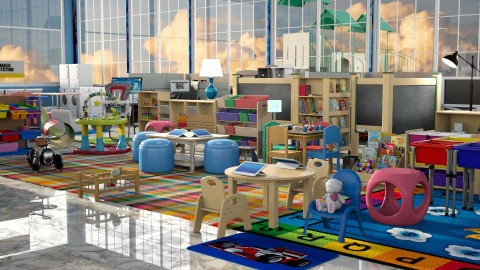 Jaya Day Care - Kids room  - by anchajaya