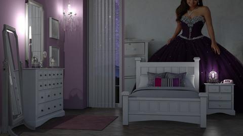 Purple Princess - Bedroom - by RaeCam