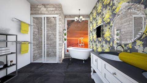 sunset bath - Classic - Bathroom  - by chloe_mccarty