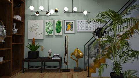 jungle hallway - Living room - by orpitaazmiri