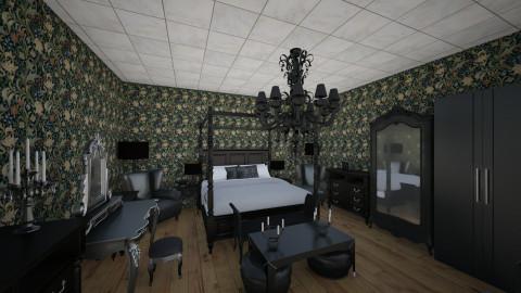 Smth Goth - Vintage - Bedroom  - by Morigan
